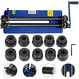 Mophorn Rundbiegemaschine manuell 460mm Sickenmaschine 1,2mm Kapazität Bördelmaschine mit 6...