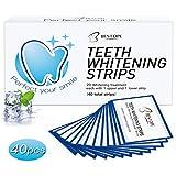 Bestope 40pcs White Stripes Zahnaufhellungs Bleaching Strips Zahnauhellung-Streifen Zahnbleaching...