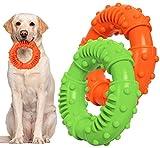 Hundespielzeug Kauspielzeug Hunde, Hunde Spielzeug für Starke Kauer Ring Spielzeug Hund, Spielzeug...