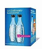 SodaStream DuoPack Glaskaraffe, Ersatzflaschen geeignet fr die SodaStream Wassersprudler Crystal und...