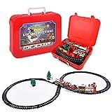 QiKun-Home Weihnachten Elektro-Schienen-Auto-Zug-Spielzeug Kinder Elektro-Spielzeug...