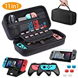 HEYSTOP Tasche fr Nintendo Switch, 11 in 1 Nintendo Switch Tragetasche Mit 2 Joy-Con Griffen fr...