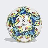 adidas Jungen Finale 19 CPT Turnierbälle für Fußball, top:White/Bright Cyan/solar Yellow/Shock...