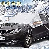 DINGHENG Auto Abdeckung Scheibenschutz Scheibenabdeckung Frostabdeckung Winterabdeckung Frontscheibe...