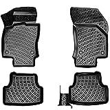 Elmasline Design 3D Gummimatten Set für Mini Cooper R56 2005-2014 | Extra hoher 5cm Rand