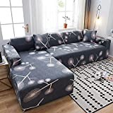 Sofabezug Couchbezug Möbelschutz Soft Stretch Sofa Schonbezug Spandex Jacquard Stoff Super Fit für...