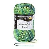 Schachenmayr Catania Color 9801780-00206 wiese Handstrickgarn, Häkelgarn, Baumwolle