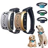 KIKIRon Antibellhalsband Wiederaufladbare Hundetrainings-Kragen Vibrieren Vibration Anti...