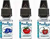 3 x 10ml Twizzy Berry Aroma Bundle | Blaubeere, Erdbeere, Himbeere | Aroma für Shakes, Backen,...
