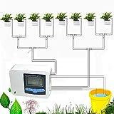 NXM Tropfbewässerung Ausrüstung Mit Garten Zeitschaltuhr Bewässerung Automatisches...