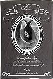 Pokal Center Westerheider Tiergrabsteine Kaninchen mit Foto oval, Gedenksteine Kaninchen mit...
