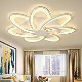 QXXZ LED Deckenleuchten Wohnzimmer Blumenraute Dekoration Kronleuchter Moderne minimalistische...