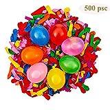 Blesser 500 PSC Wasserballon, Wasserbomben aus Latex, Spielzeug für Sommer, Wasserspiele für...