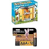 Playmobil City Life 9266 Modernes Wohnhaus, Mit Licht- und Soundeffekten, Ab 4 Jahren + Duracell...