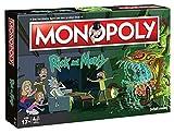 Monopoly - Rick and Morty - Deutsch - 6 Sammler Spielfiguren   Gesellschaftsspiel   Brettspiel