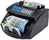 ZZap NC20i Banknotenzähler & Falschgeld-Detektor - Geldzählmaschine Geldzähler...