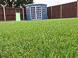 Tuda Grass Direct 4m x 1m Amazon 40mm Florhöhe Kunstrasen | natur & realistisch Astro Garten...