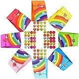 BEYAOBN 48 Papier Candy Tüten Partytüten Set, Bunt Geschenktüten zum Geburtstag Klein Candy...