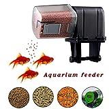 Wood.L Automatisierte Futterspender Für Fische Aquarium Futterautomat, Aquarium Feeder Mit Großer...