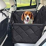 Hundesitz Auto - Hochwertiger Hunde Autositz Rückbank groß für kleine bis mittlere hunde-...