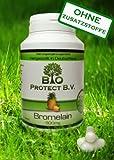 Bromelain 500 mg (2.000 F.I.P.) 120 Kapseln - Vegan ohne Füll- und Zusatzstoffe - 2000 GDU/g -...