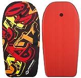 Schildkröt Schwimmbrett Bodyboard L, mit Nylonüberzug und EPS Schaumstoff-Kern, 93 x 46 cm, max....