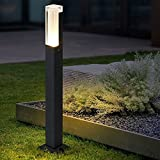 HMAKGG LED Wegeleuchten Außen Anthrazit,7W LED Gartenleuchte Außen Pollerleuchten IP65,...