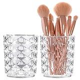 2 Stk Make-up Bürstenhalter Schminkpinsel Behälter Pinselhalter Kosmetik Organizer Schmink Pinsel...