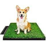 Hompet Hundeklo Hundetoilette Welpentoilette Trainingsunterlage, Indoor Hundetöpfchen,...