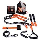 Septagon Sports® Premium Sling Trainer Set V.2021 Suspension Trainer mit Handtuch, Rucksackbeutel...