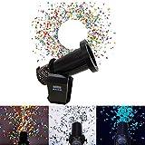 Elektrische Konfetti Maschine 1500W,Maschine Konfetti,DJ Shot Konfetti-Shooter FüR Halloween Party...
