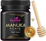 Manuka Honig | MGO 514+ (UMF 15+) | 250g | Das ORIGINAL aus NEUSEELAND | HOCHAKTIV, PUR, ROH &...