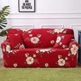 DAMUZHI Universal Sofabezug Stretch Sofa Möbelbezug Sofatuch 1/2/3/4 Sitz 3-Sitzer 190-230Cm Farbe...