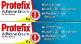 Protefix Haftcreme Extra Stark 2 Pack = 2x40ml