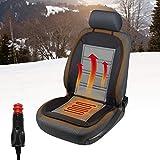Walser 16590 Beheizbare Sitzauflage, Autositzauflage Warm UP mit Thermostat Heizbare Sitzkissen,...