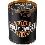 Nostalgic-Art - Harley-Davidson Genuine Logo - Spardose, Geschenke für Harley-Davidson Fans, als...