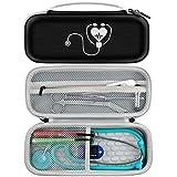 Schutz- & Portable Gehäuse passend für 3M Littmann Classic III Monitoring Stethoskop, Zubehör...