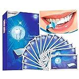White Strips, 28pcs Bleaching-Strips zur Zahnaufhellung, 3D Zahnaufhellung für Weißere Zähne...