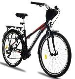 Corelli Tess Citybike 26 Zoll mit Aluminium-Rahmen, V-Brake, Shimano 21 Gang-Schaltung, als...