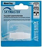 Skymaster AKV Antennen Kabelverbinder bestehend aus Kunststoff weiß