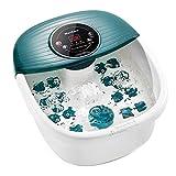 Fußbad Massagegerät, Fussbadewanne Fußsprudelbad mit Heizung Vibrations- und Sprudelmassage,...