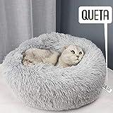 Queta Katzenbett Schöne Tierbett, Klein Hund Bett Haustierbett Plüsch Weich Runden Katze Schlafen...