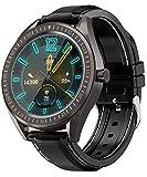 COULAX SmartWatch, GPS Uhr mit 1.3 Zoll Touch Farbdisplay, Blutdruck Fitness Armbanduhr, IP68...