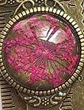 Kreative Vintage Metall Lesezeichen Lineal Blume Lesezeichen-Rose rot