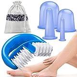 HBselect Silikon Schröpfen Therapie Set Cellulite Entferner Massagegerät mit einer Massage-Rolle...