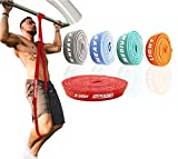 ActiveVikings® Pull-Up Stoff Fitnessbänder - Perfekt für Muskelaufbau und Crossfit Freeletics...