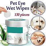 130 Stck / Set Tierauge Hundekatze Papierhandtuch zum Reinigen von Waschmitteltchern, 130 Stck...