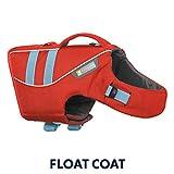 Ruffwear Schwimmweste für Hunde, Mittelgroße Hunderassen, Größenverstellbar, Größe: M, Rot,...