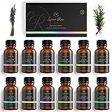 Luana Rose - Ätherische Öle Sets - 100% Vegan & Naturrein - 12x Aromaöl-e für Diffuser &...
