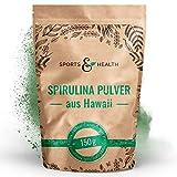 Spirulina Hawaii Pulver 150g - 3g Pro Tagesdosierung Hawaiian Spirulina - 100% Natürlich Und Reines...